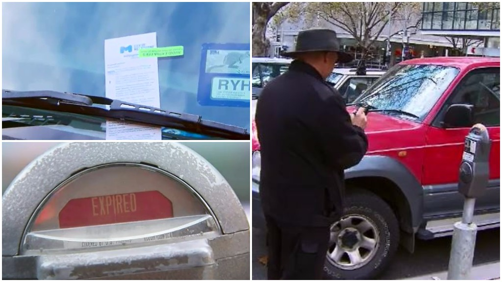 Melbourne parking inspectors stop issuing tickets in CBD over pay dispute