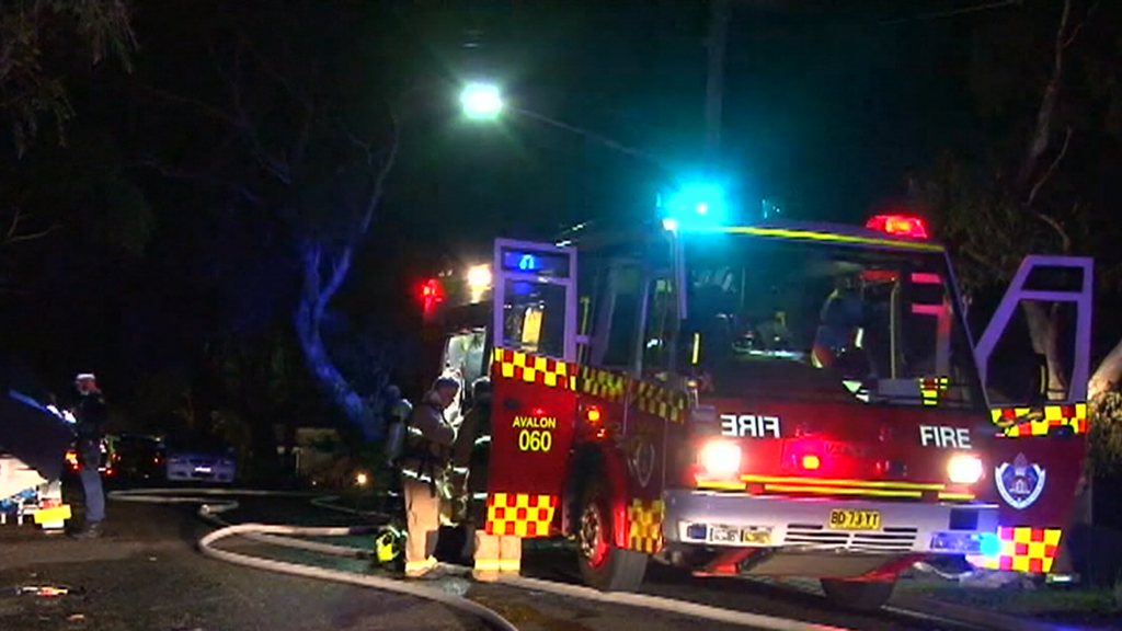 Firefighters were unable to save the home. (9NEWS)