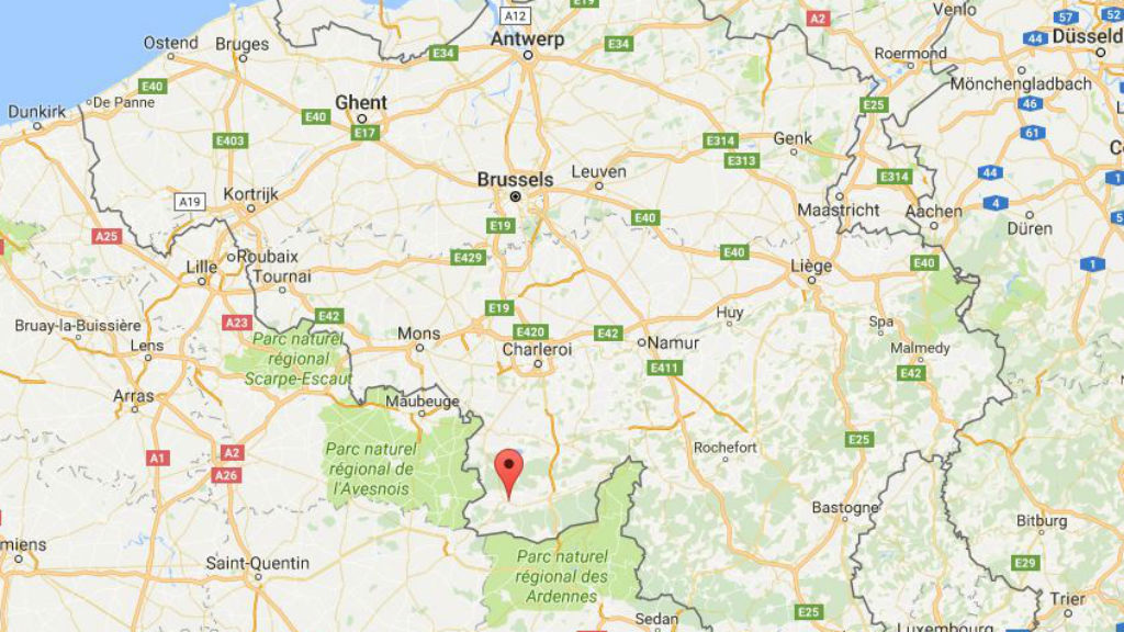 One dead and two injured after explosion at sports centre in Belgium