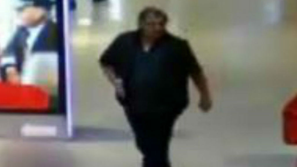 The man is believed to speak English as a second language. (Vic Police)