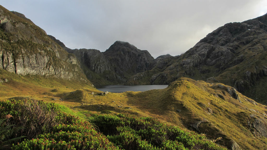 The landscape along the Routeburn Track, north-west of Queenstown on the South Island of New Zealand. (AAP)