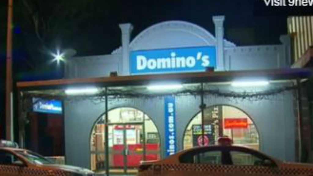 Thieves wielding hammers storm Domino's store in Adelaide