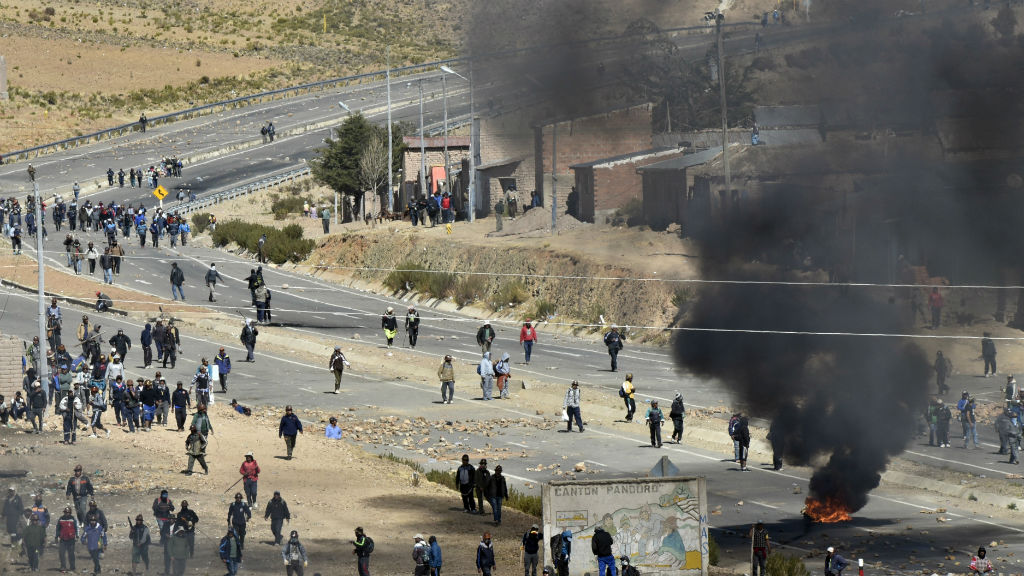 Bolivian authorities say minister kidnapped and killed by striking mineworkers