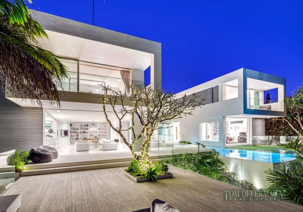 Inside pat rafter 39 s 18m gold coast mansion 9homes for 15 maher terrace sunshine beach
