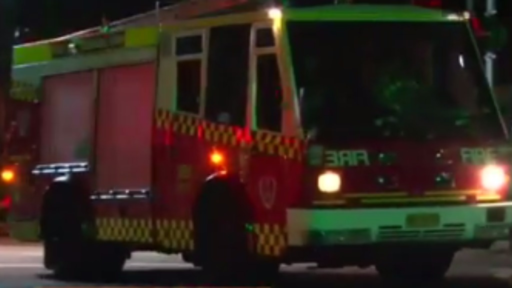 Two prisoners taken to hospital after fire at Sydney jail