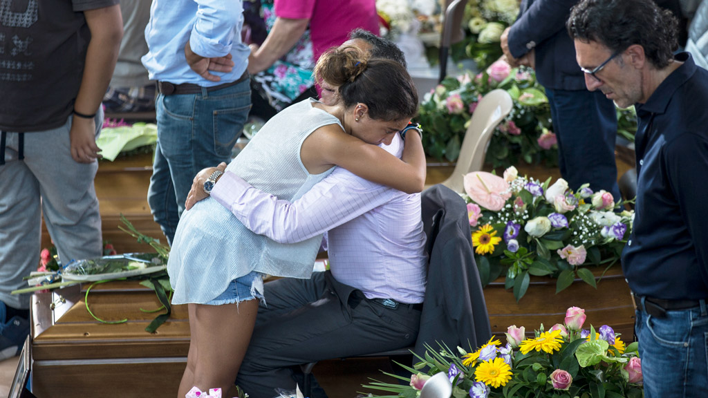 Italy mourns victims of devastating magnitude 6.2 quake