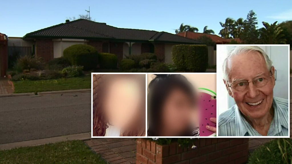 The Adelaide home, the Queensland women and Robert Whitwell. (9NEWS)