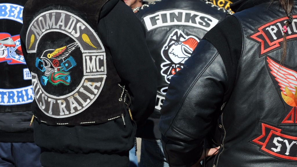 Queensland bikies banned from wearing colours under new laws