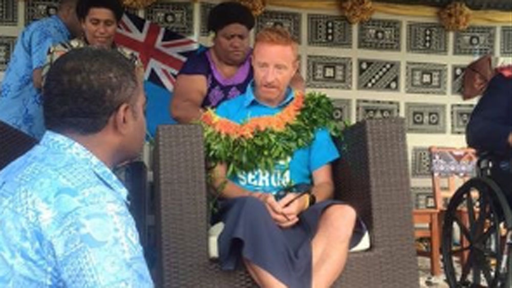 Fiji sevens coach Ben Ryan. (Supplied)