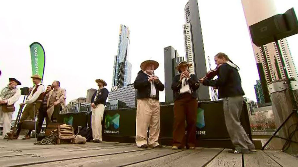 Melbourne celebrates 181st birthday with old fashioned song and dance