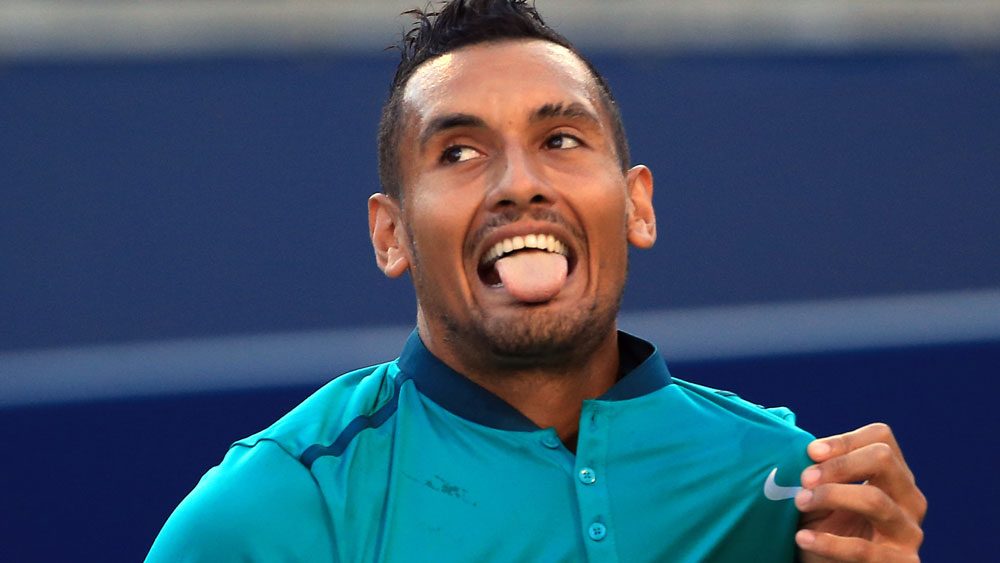 Kyrgios says he'll quit if he wins US Open