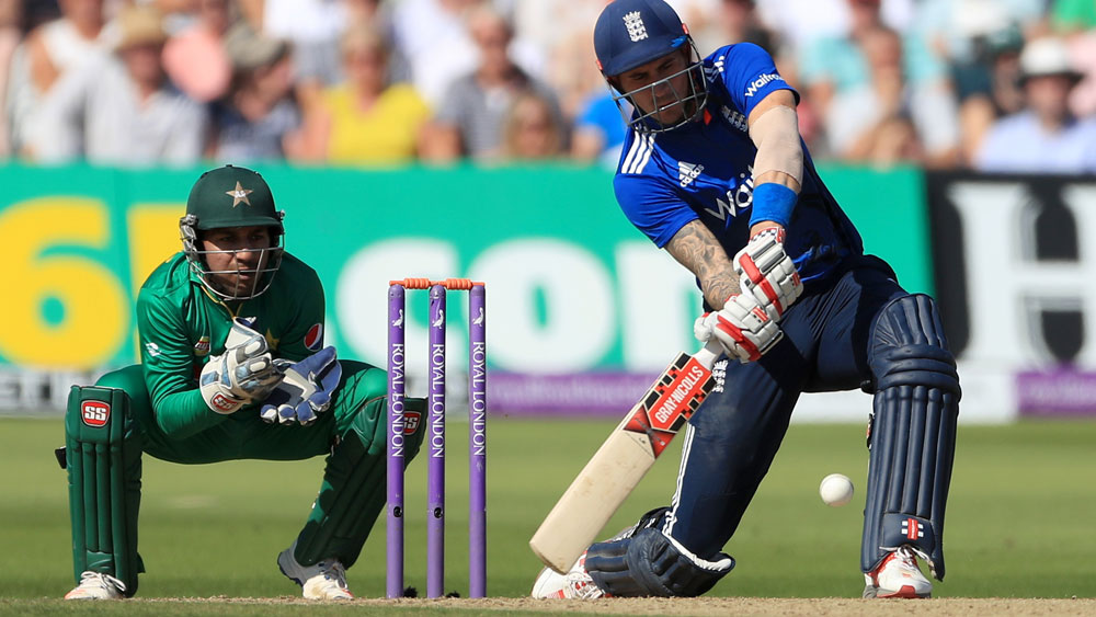 Alex Hales finished with 171. (AAP)
