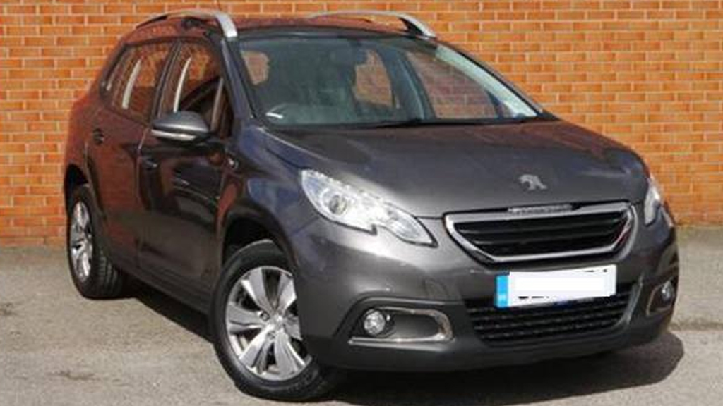 The missing couple's Peugeot. (NSW Police)