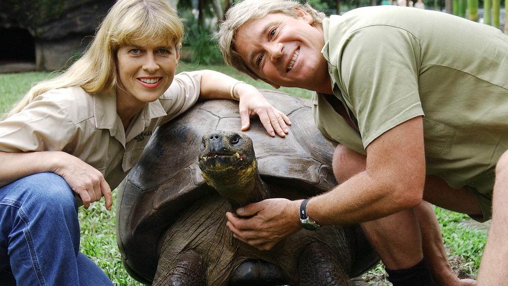 Terri and Steve Irwin. (AAP file image)