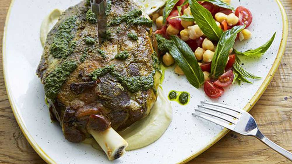 "<strong><a href=""http://kitchen.nine.com.au/2016/05/20/10/05/slowroasted-moran-family-lamb-shoulder-with-chermoula-zucchini-and-mint"" target=""_top"">Click through for slow-roasted Moran family lamb shoulder with chermoula, zucchini and mint</a></strong>"