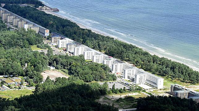 Nazi relic transformed into luxury beach resort