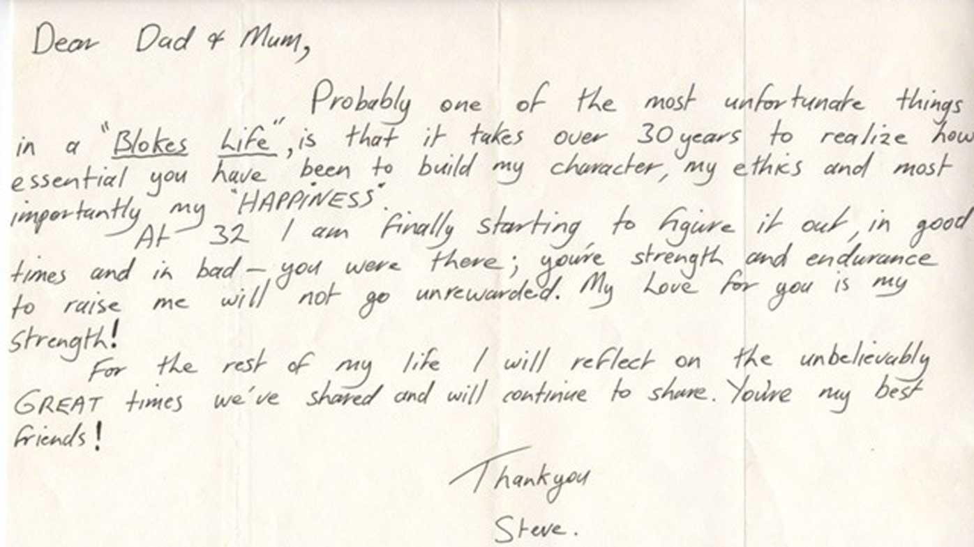 Croc Hunter's dad Bob Irwin pens memoir containing touching letter from Steve