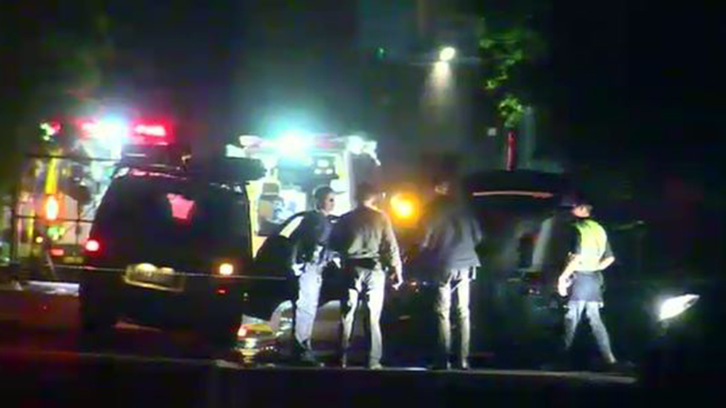 A man has been killed following a shootout with police at an industrial area in Tullamarine. (9NEWS)
