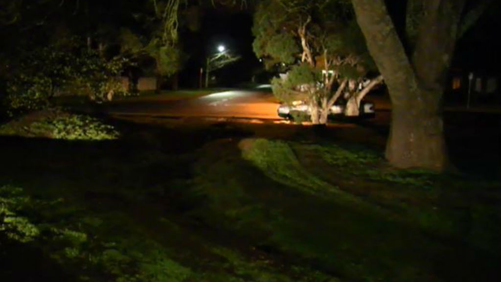Police say the man had been doing burnouts in a stolen car yesterday afternoon. (9NEWS)