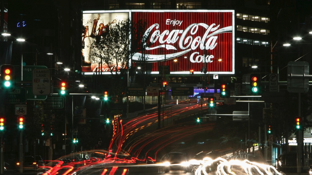 Kings Cross Coca-Cola sign letters to be auctioned off for charity
