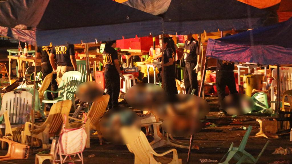 Market bomb attack kills 10 in Philippines