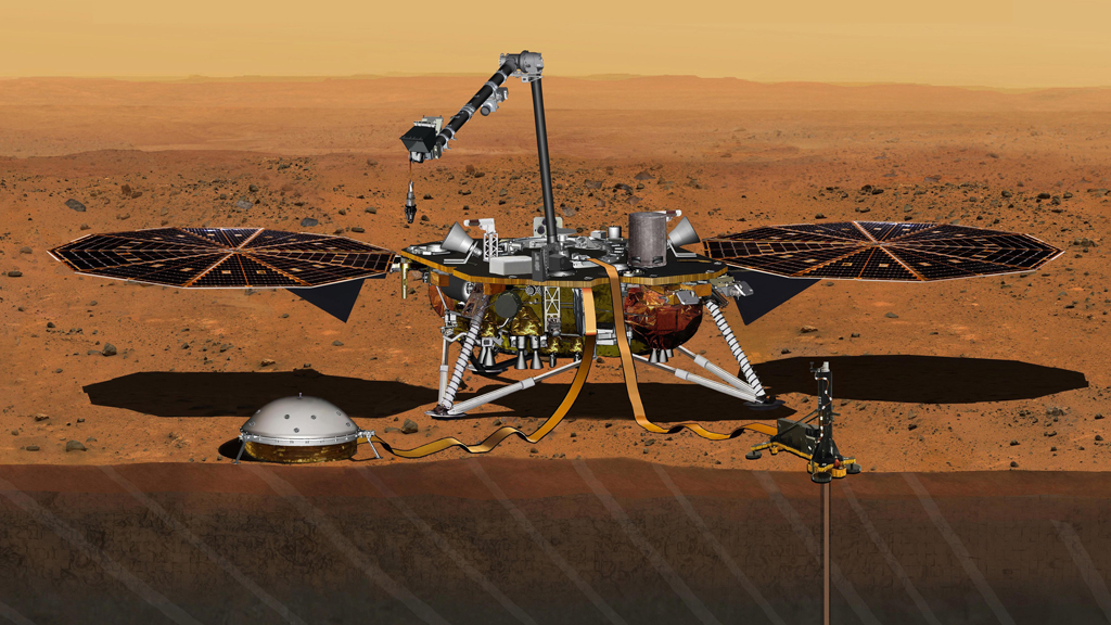 NASA to launch mission to Mars in 2018