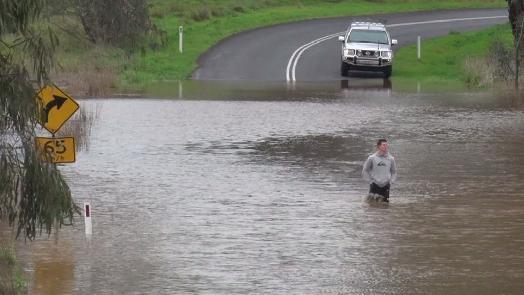 Major flood warning issued for Belubula River in Canowindra