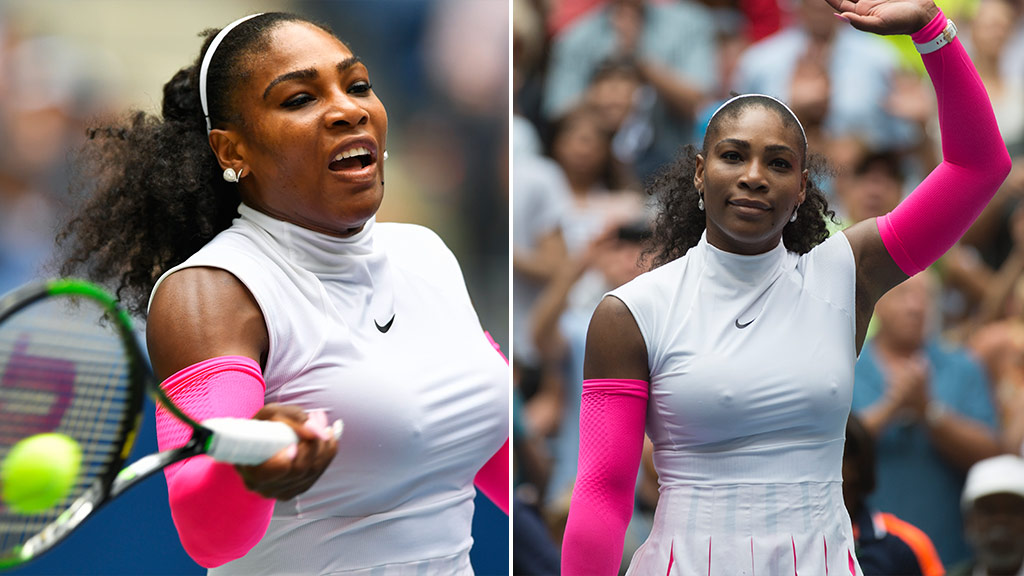 Tennis star Serena Williams claims record with 307th Grand Slam match win