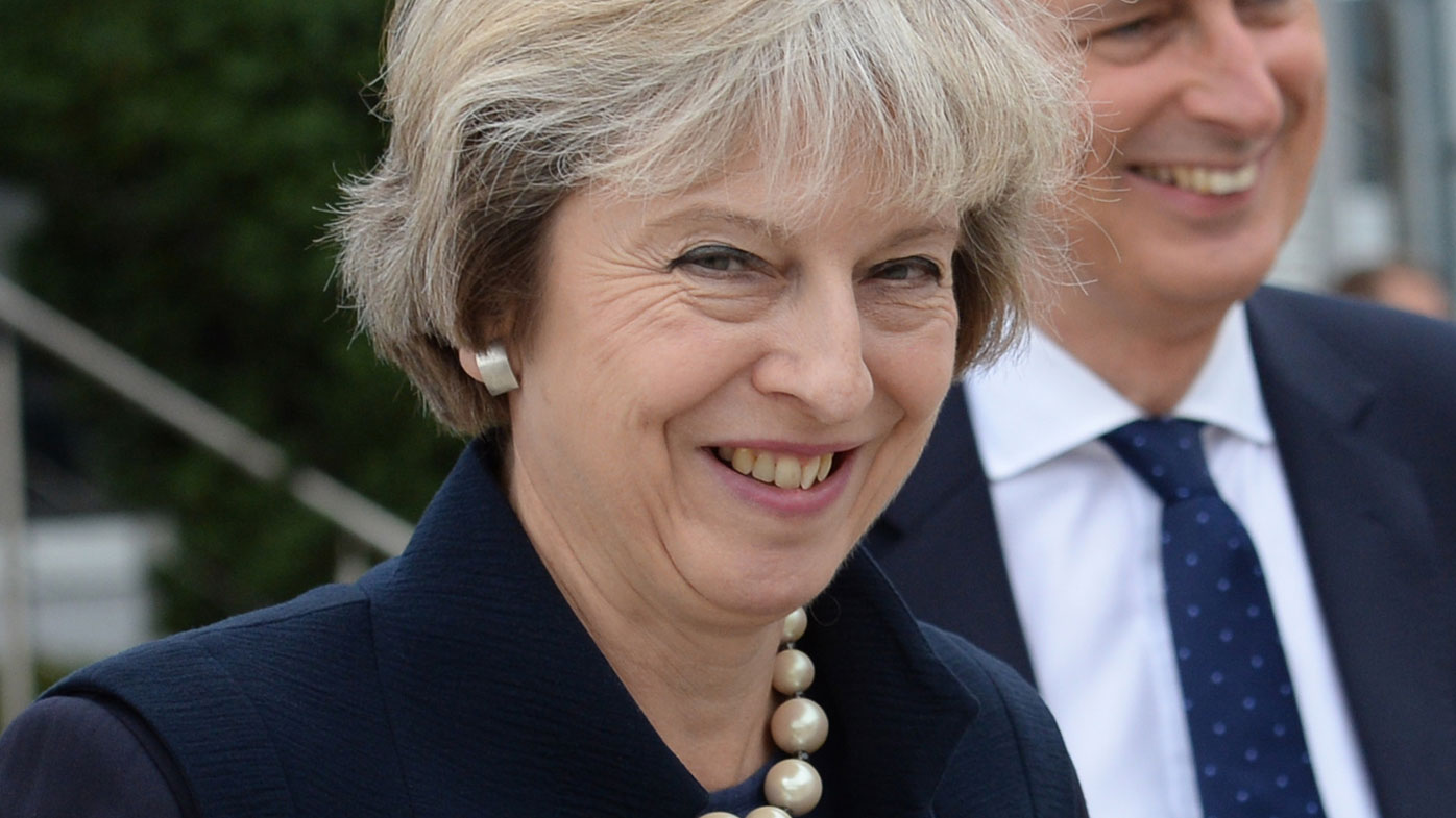 May says UK will be more outward-looking