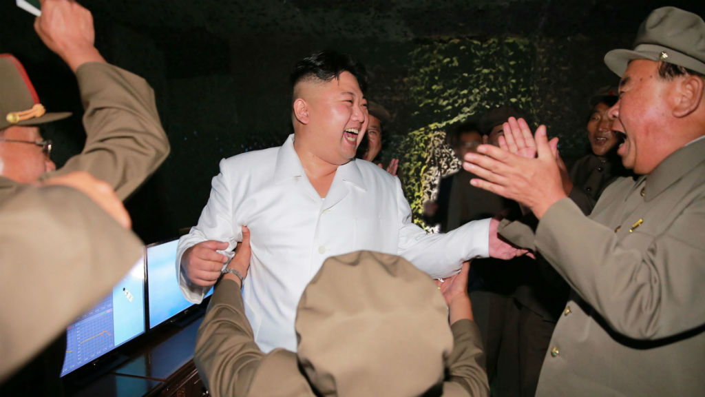 North Korea fires three ballistic missiles in show of force to coincide with G20 Summit