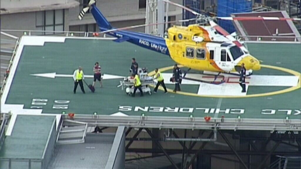 Queensland toddler suffers head injuries after tractor incident