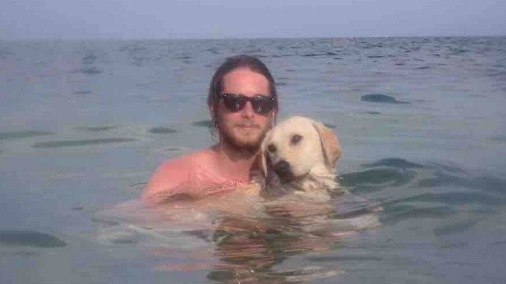 Geelong man abandons dream to bring stray Greek dog Chance to Australia