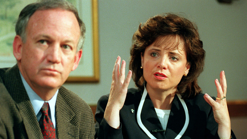 JonBenet's parents, John and Patsy, were suspects in the murder of their daughter for a decade. (AAP)