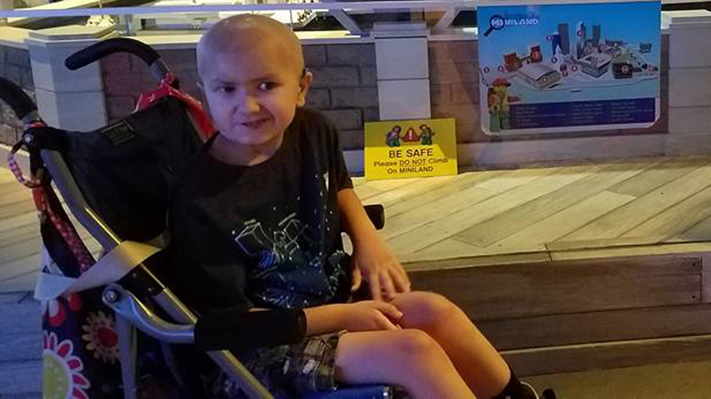 US boy suffering from a brain tumor to become honorary member of New York police force