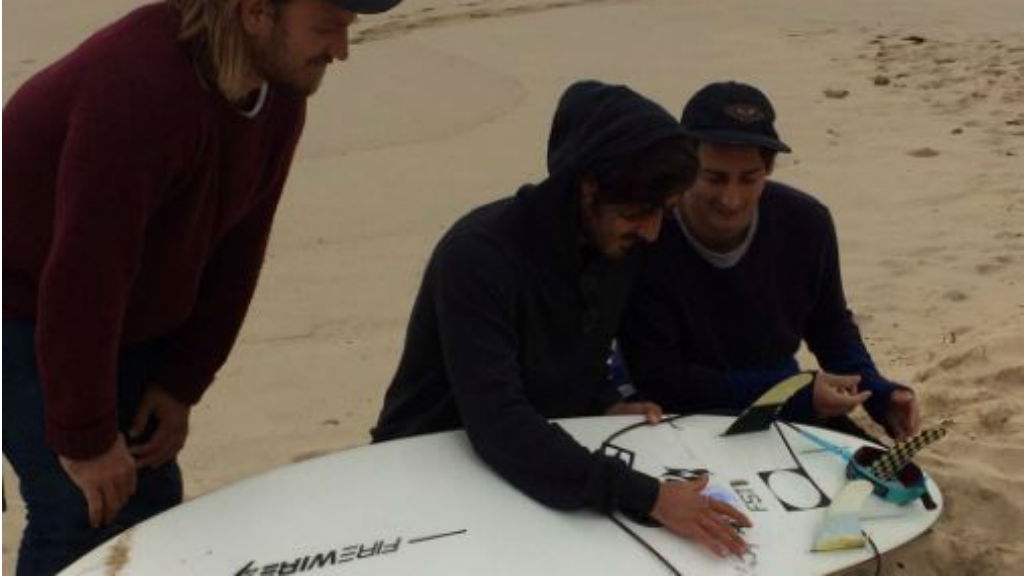 Surfer thanks his brother for saving him from shark attack at Yallingup