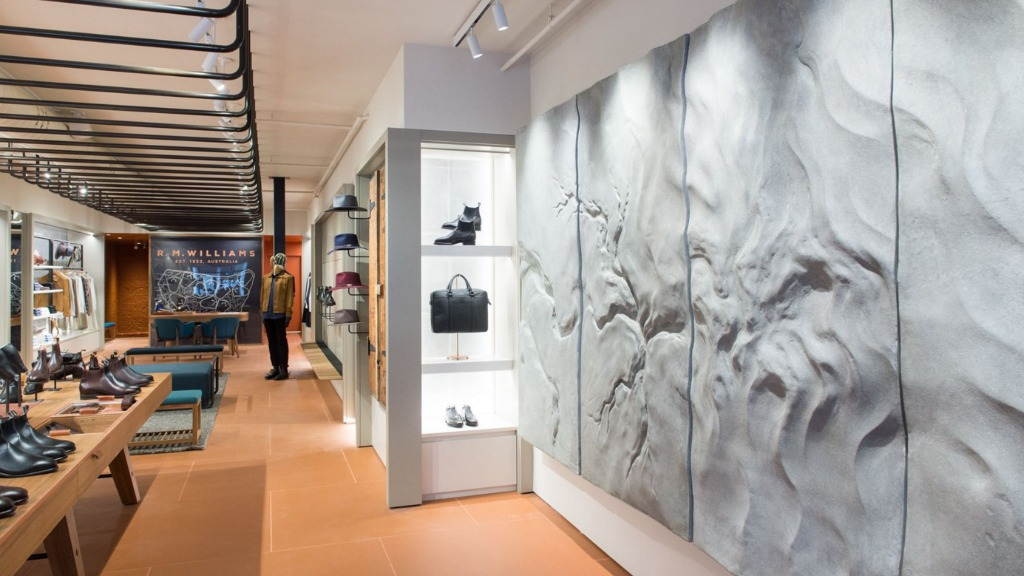 The store features bespoke decor and fittings. (Facebook)