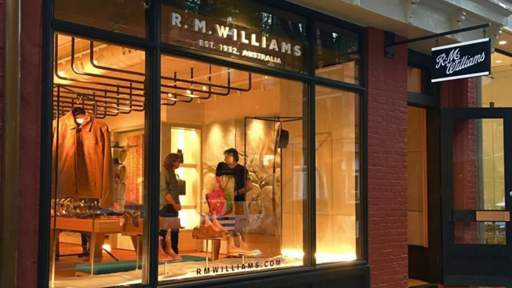 R.M. Williams has unveiled a new store in New York City. (Facebook)