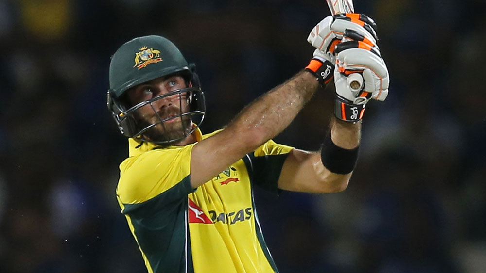 Glenn Maxwell fined for ungracious comments