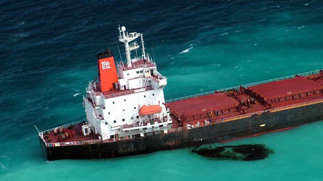 Chinese ship owner fights $120m reef clean