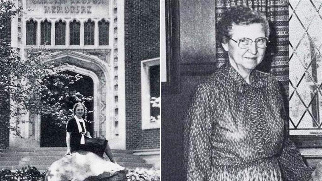 Photos of Ms Davis during her long history at Culver Academies. (Elisabeth Davis/Culver Academies)