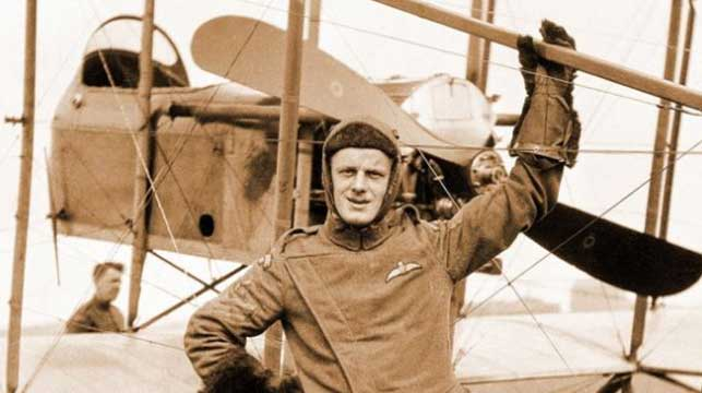 WWI pilot's photos developed after almost 100 years