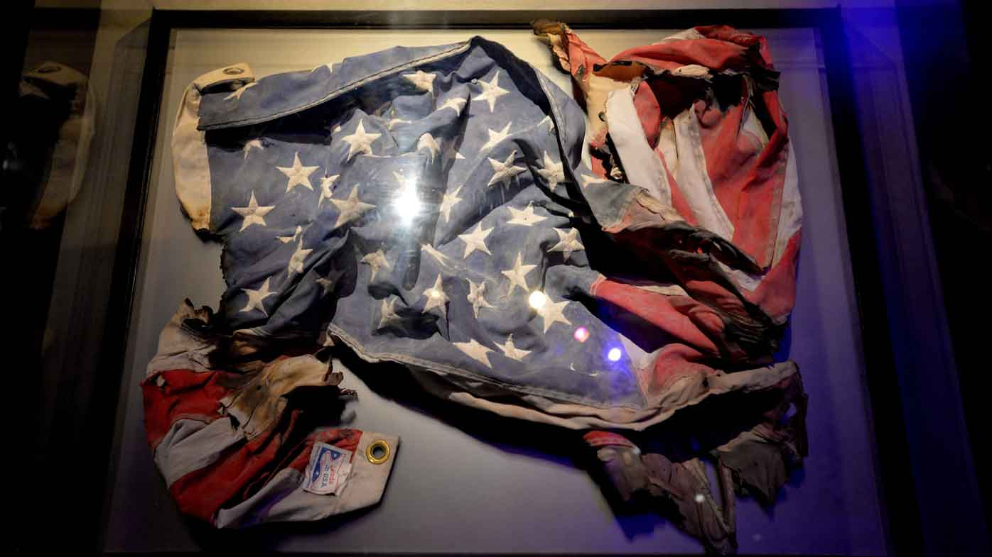 Mystery of iconic 9/11 flag solved after 15 years