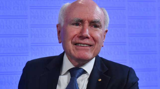 John Howard: 'Damaging' Dastyari should go