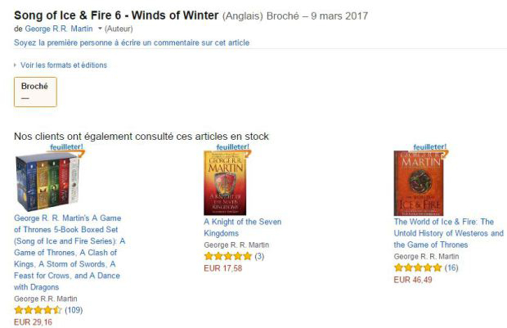 Amazon France have since removed the listing. (Amazon)