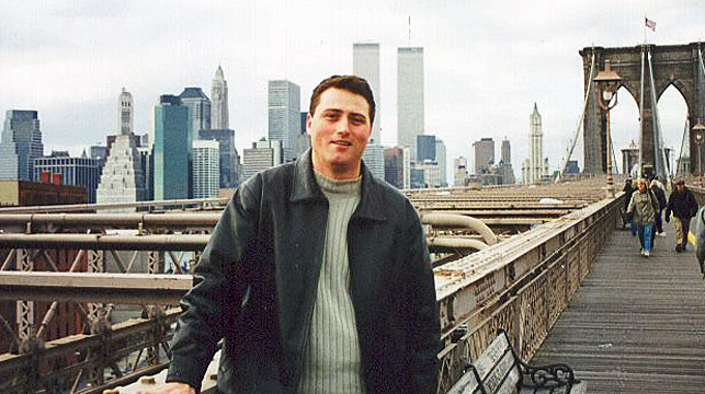 Australian writes heartbreaking letters to twin brother killed in 9/11 attacks