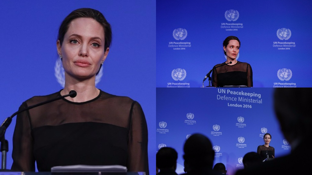 Angelina Jolie calls for prosecution of UN peacekeepers accused of sexual assault