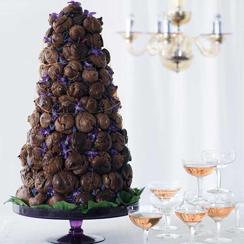 Chocolate croquembouche, Gourmet Traveller