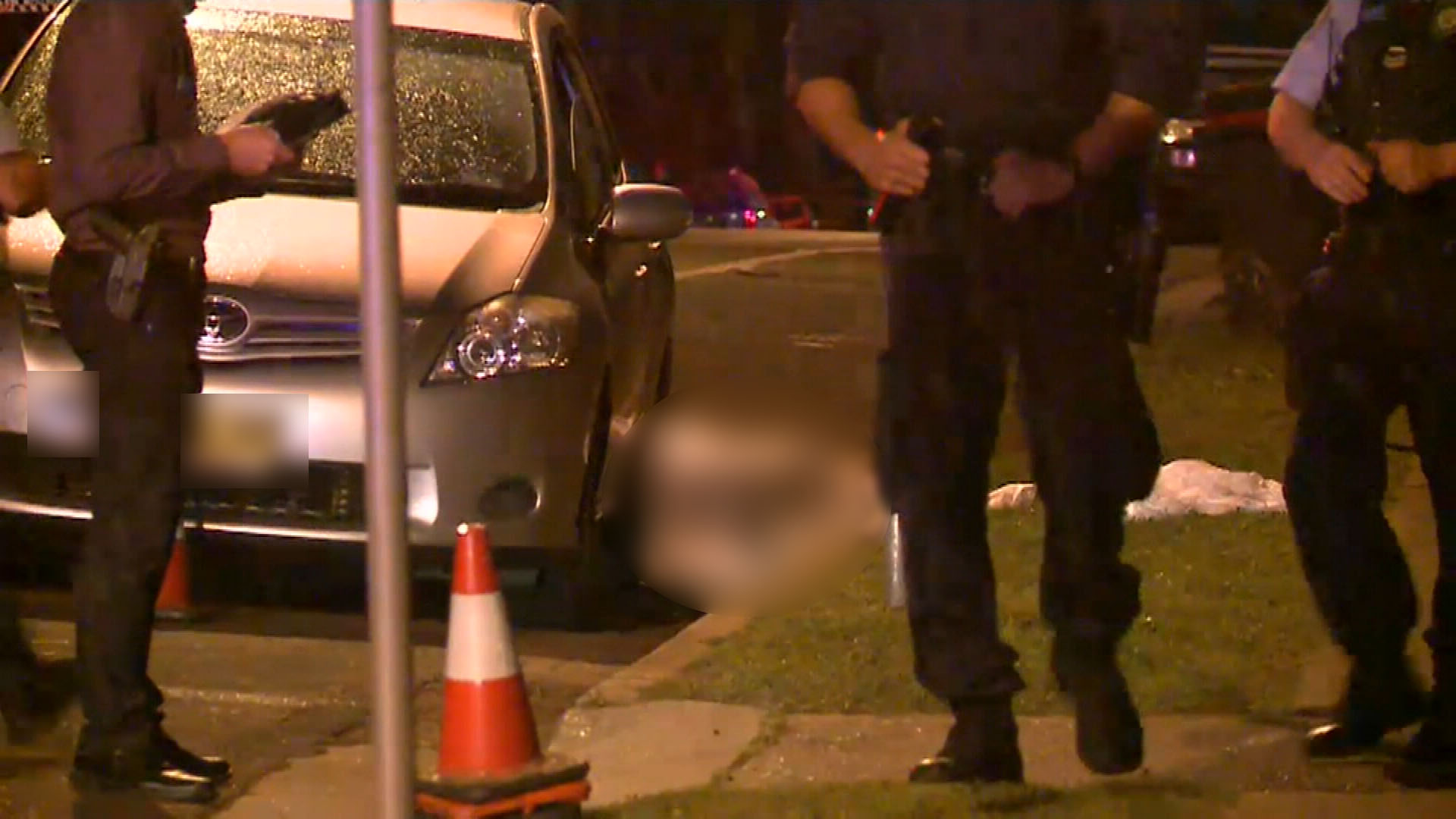 A man has died from gunshot wounds after he was found injured outside a home in St Marys. (9NEWS)