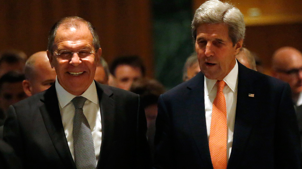 US Secretary of State John Kerry says Russia has agreed to impose a ceasefire in Syrian civil war