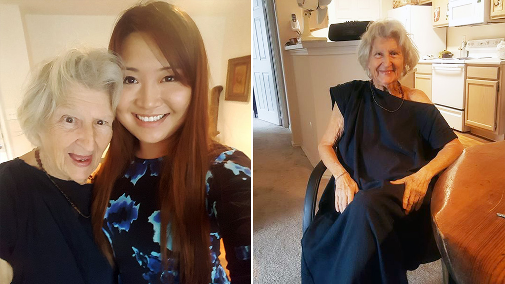 Woman reunited with former neighbour urges readers to 'love, care for and treasure the elderly'